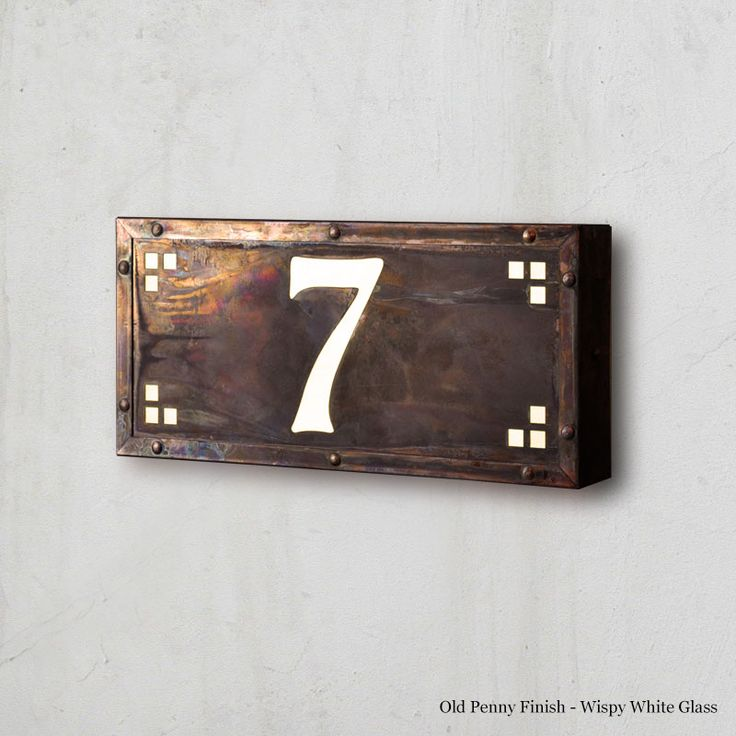 our exclusive illuminated house numbers are always handmade in america family owned for 25 years