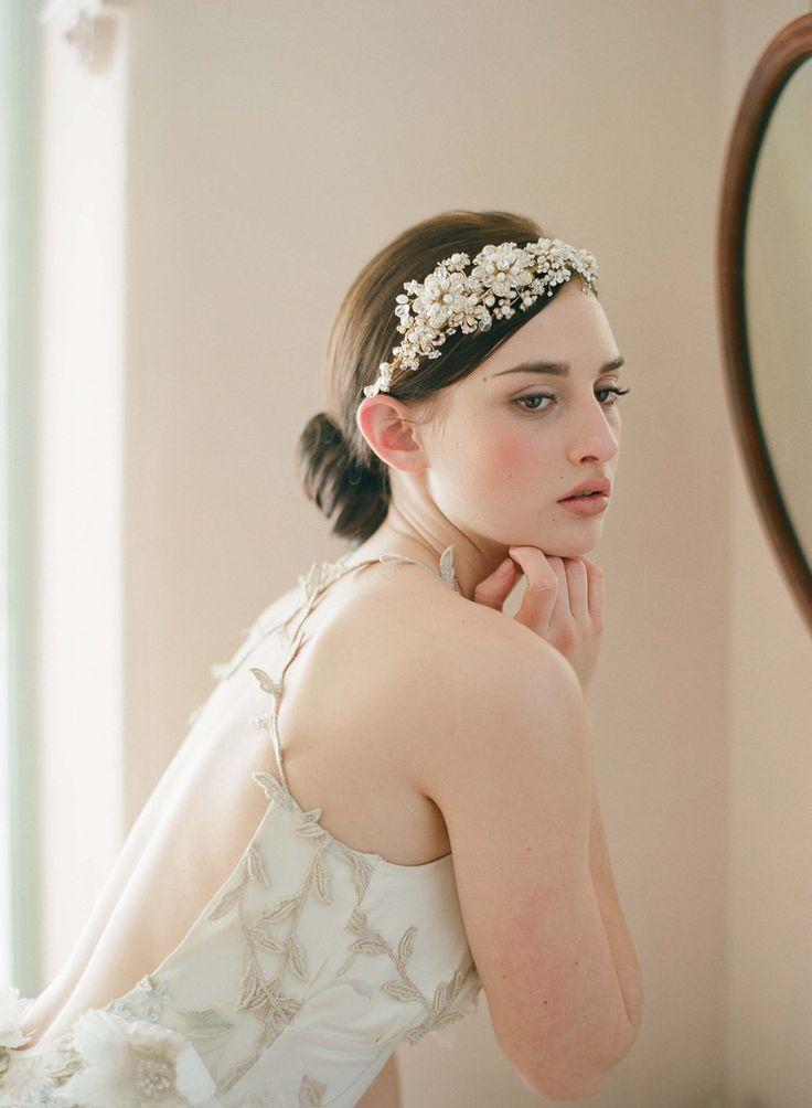 новый ручной невесты золотой кристалл жемчужина цветок hairband люксовый бренд свадьбы свадебные аксессуары для волос тиара заставку wigo0177, принадлежащий категории Украшения для волос и относящийся к Ювелирные изделия на сайте AliExpress.com   Alibaba Group