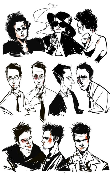 Fight Club [1999] : introduce me to ikea although a movie is about criticism of capitalism, by David Fincher.