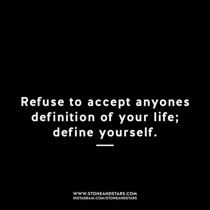Know thyself.