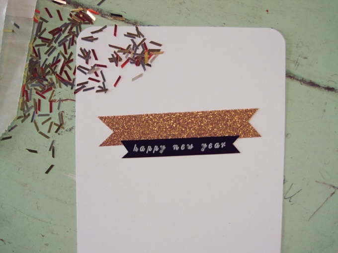 New Year's Good Luck Card DIY // Lauren Elise Crafted