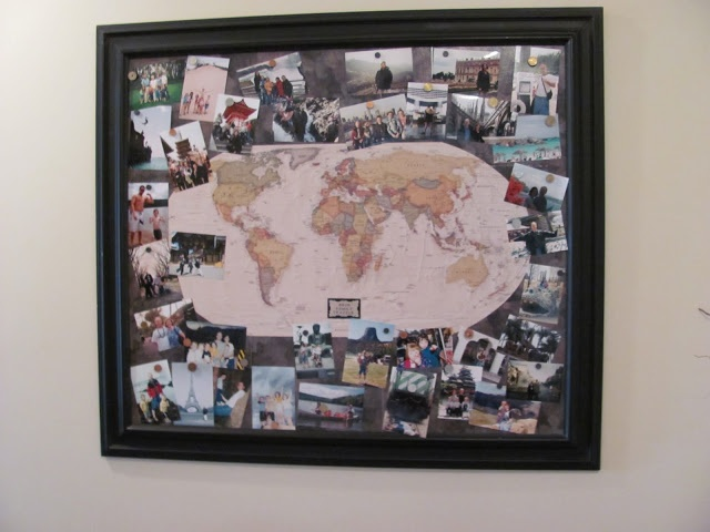9 best travel magnet display images on pinterest magnets display family travels map includes tutorial and tips to decorate with your travel momentos gumiabroncs Choice Image