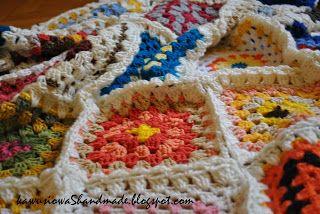 koc szydełkowy  crochet blanket