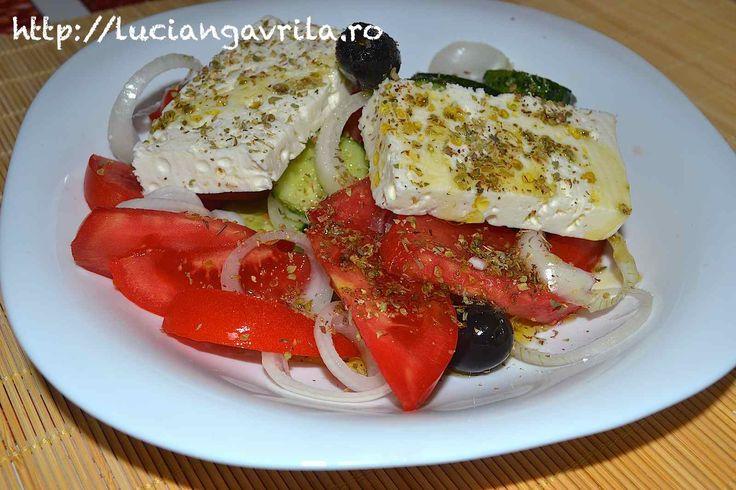 #Greek #salad #χωριάτικησαλάτα #Horiatikisalata #Salata #greceasca