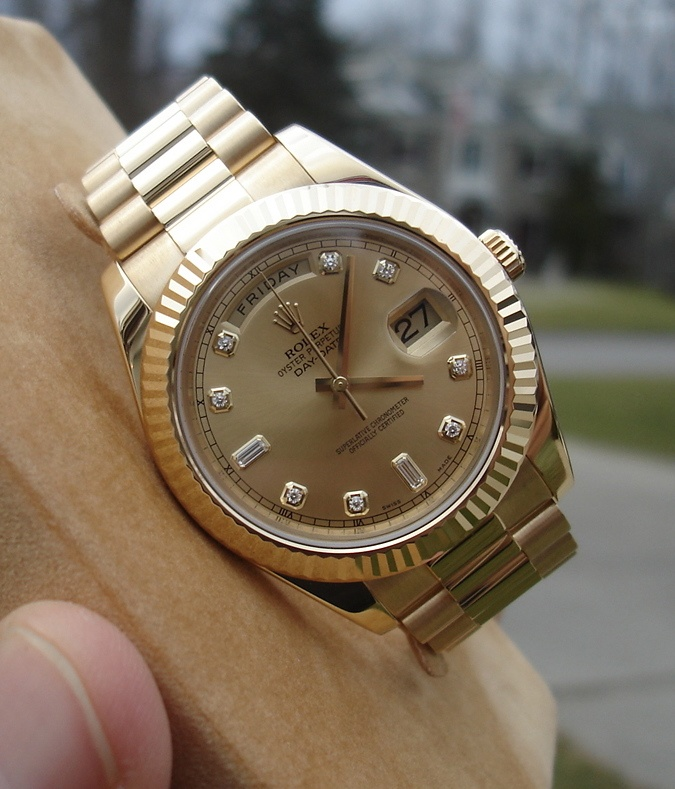 Big face rolex presidential day date 2. 41mm