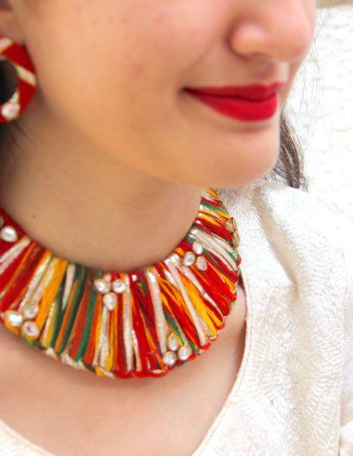 114 best Gota jewellery images on Pinterest Diy wedding jewellery