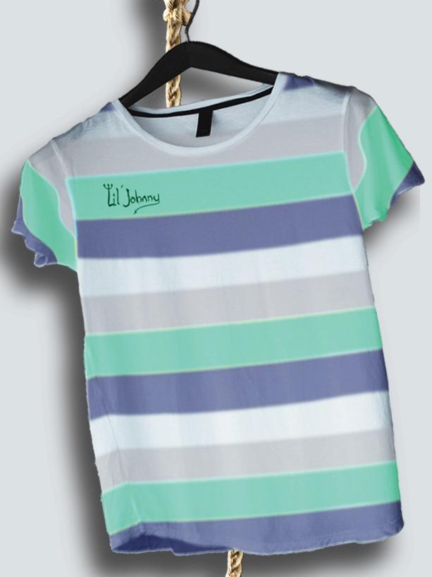 Lil Johnny Stripes Tee, Boys Clothing Online