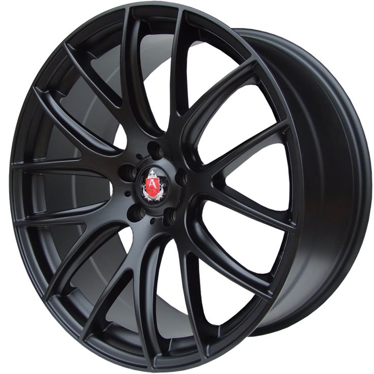 AXE CS LITE MATT BLACK alloy wheels with stunning look for 5 studd wheels in MATT BLACK finish with 18 inch rim size
