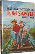 The Adventures of Tom Sawyer by Mark Twain - 50 books for my 11 year old to read.