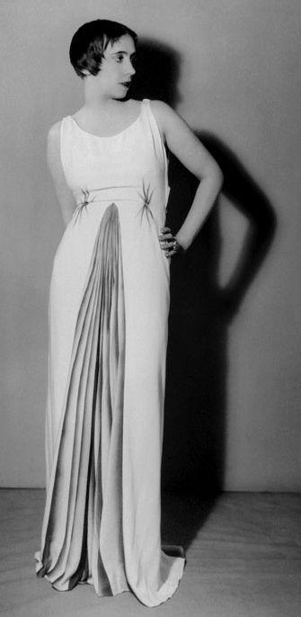 Elsa Schiaparelli in Elsa Schiaparelli Fall 1931. Photo by Man Ray.