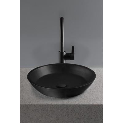 Toto Waza Noir Cast Iron Vessel Bathroom Sink - FLT141-80