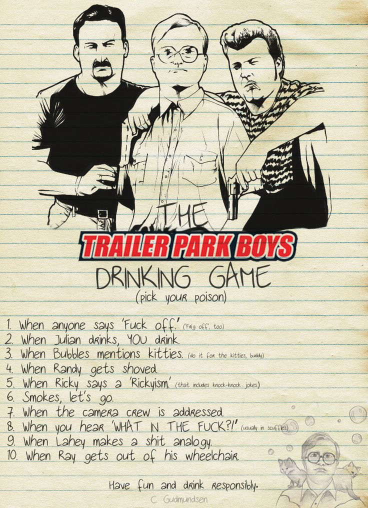 Trailer Park Boys Drinking game anyone? - Imgur