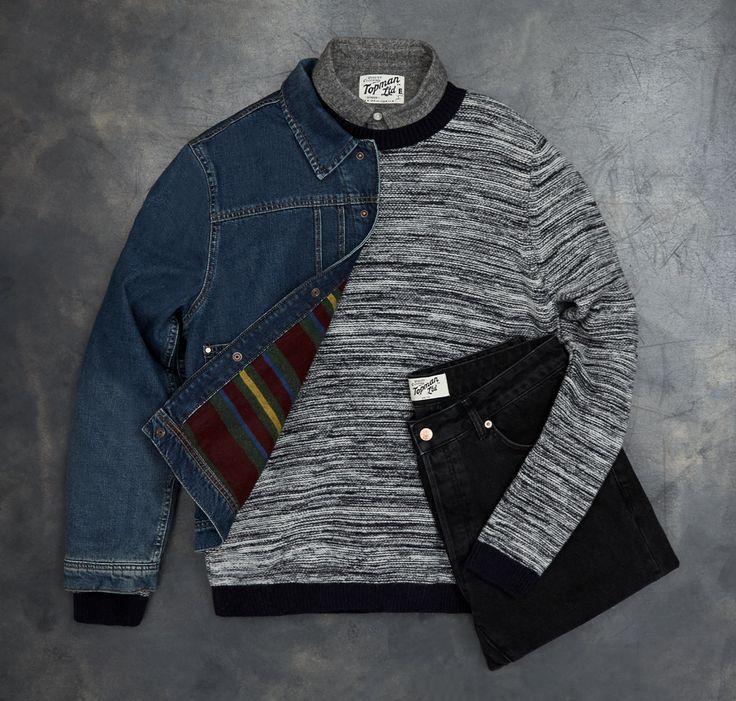 Black Slim Tie - - Clothing
