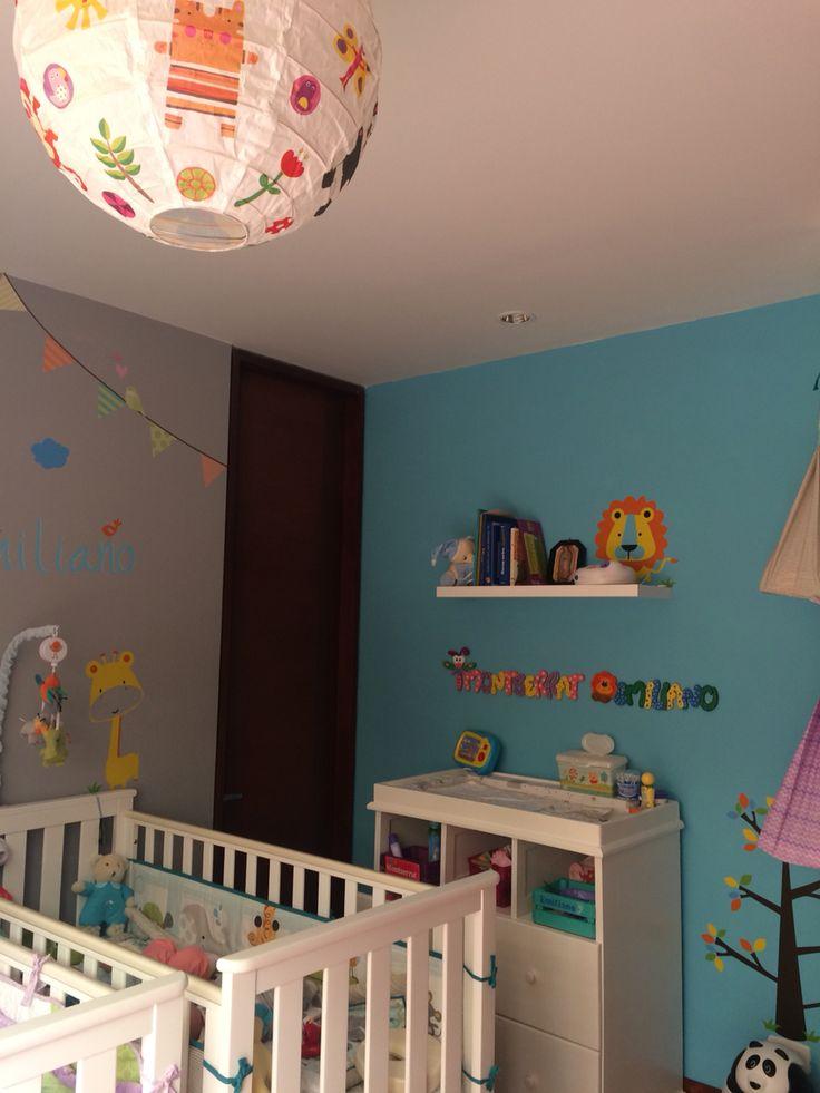 #twins #nursery