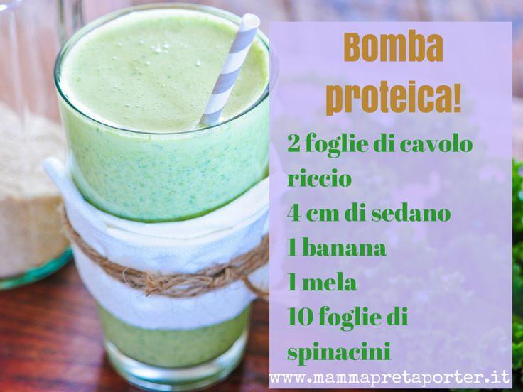 La nostra ricetta di uno smoothie proteico e detox, perfetto prima di fare sport