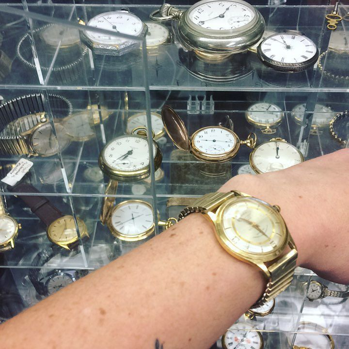 """'Bout """"time"""" you checked out our selection of both new & #vintage / #antique watches! #HamOnt"""