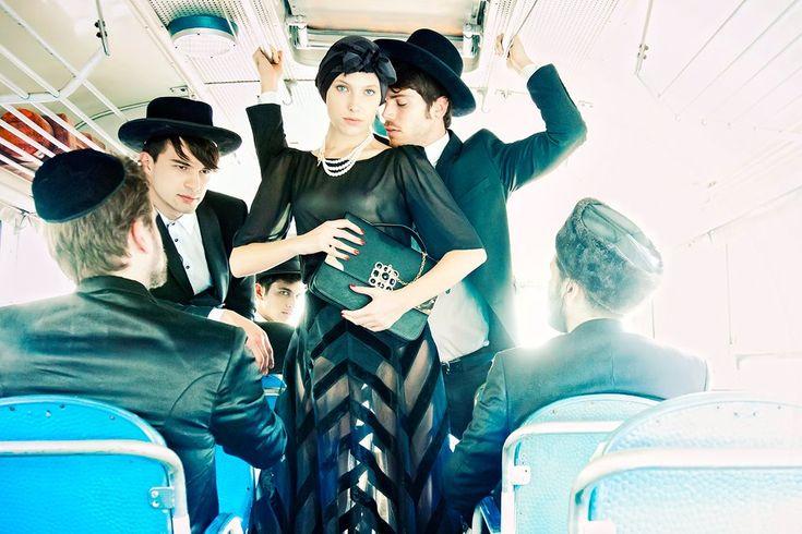 ...Israeli Fashion, Lior Nordman, Bus, Shoots Mocking, Israeli Photos, Photos Shoots, Fashion Photography, Mocking Ultraorthodox, Women Haters