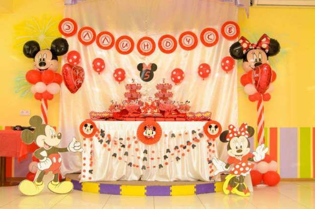 Детский День рождения Минни Маус, оформление, декор Харьков - изображение 1