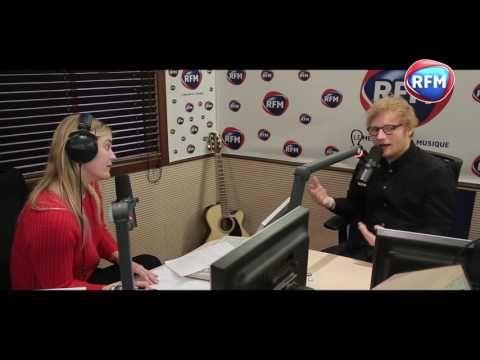 Ed Sheeran en interview chez Justine Fraioli - YouTube