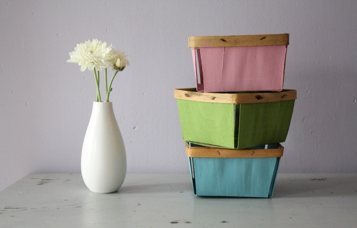 Diy Crafts With Wooden Berry Baskets