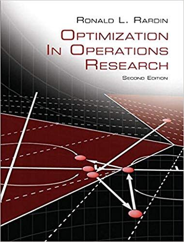 Optimization In Operations Research 2nd Edition By Ronald L