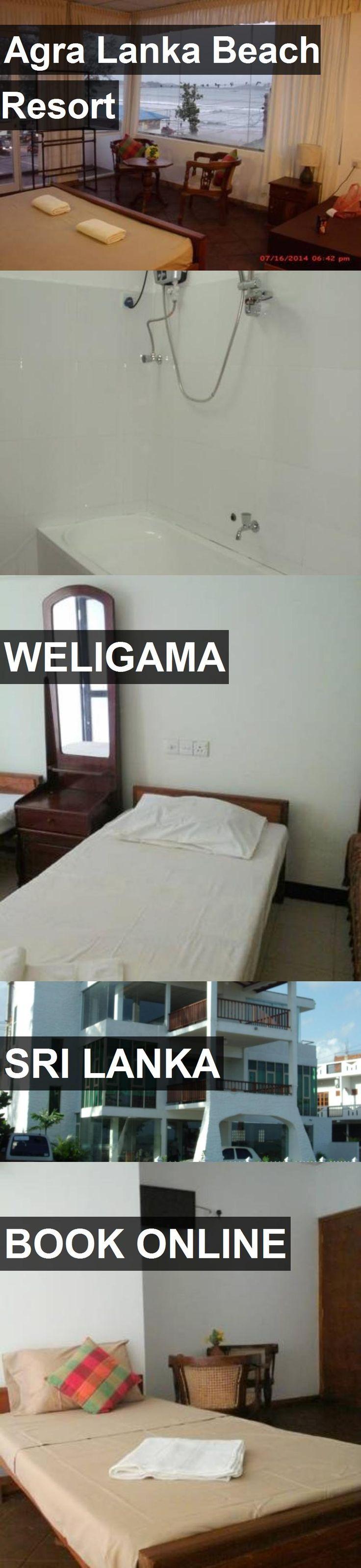 Hotel Agra Lanka Beach Resort in Weligama, Sri Lanka. For