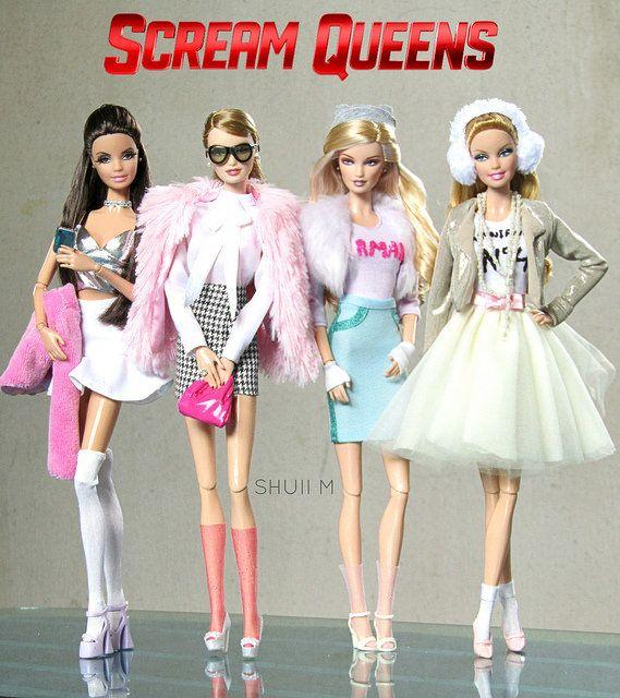The Chanels #ScreamQueens   Scream queens fashion. Queen outfit. Scream queens