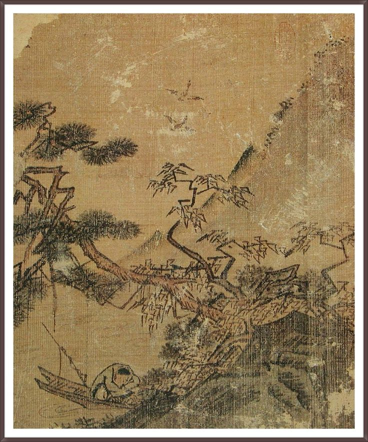 이상좌(李上佐)의 어가한면도(漁暇閑眠圖)