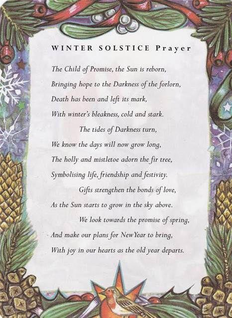 winter solstice prayer - Bing Images
