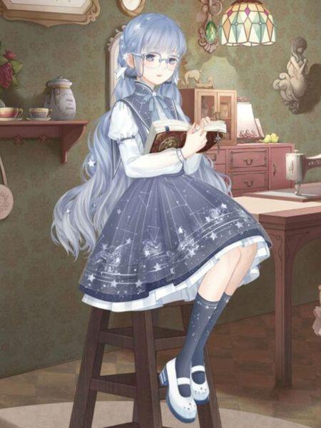 Kawaii Anime Girl Cosplay Costume Lolita Dress