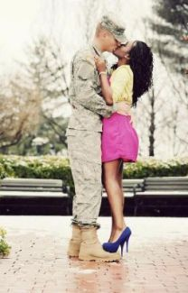 A Young Military Wife (Interracial Love Story) by RoneshiaAlexus
