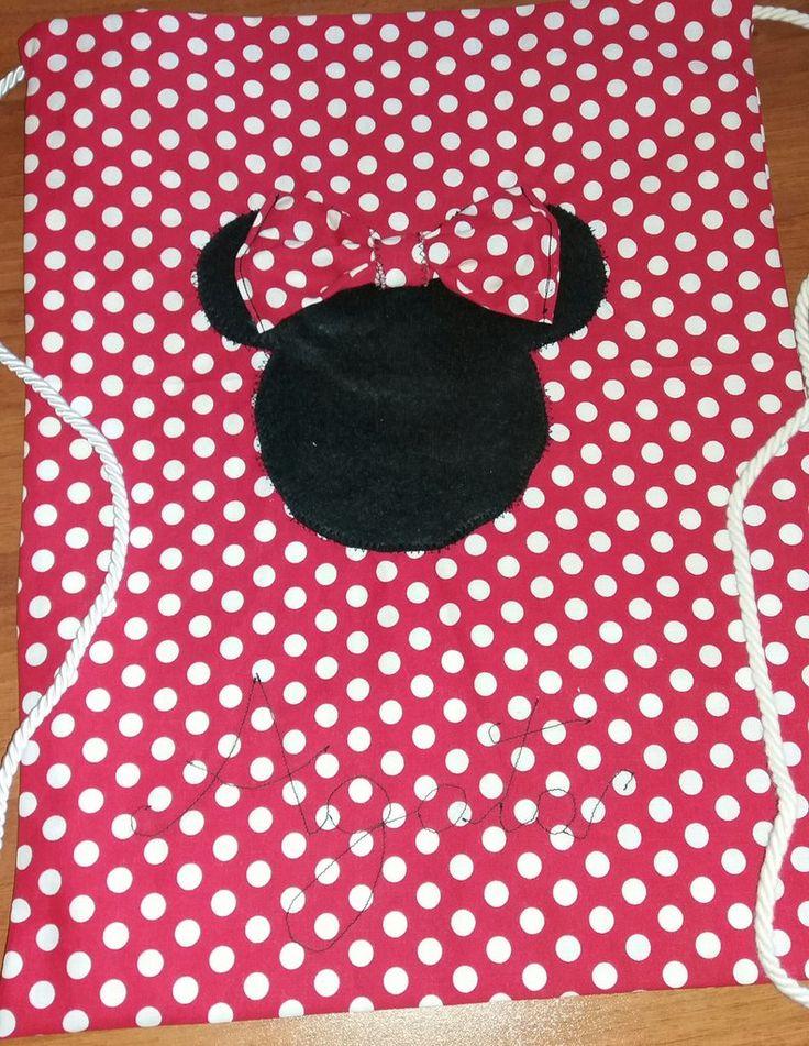 Zainetto Minnie personalizzato , by francycreations non solo idee regalo, 22,00 € su misshobby.com