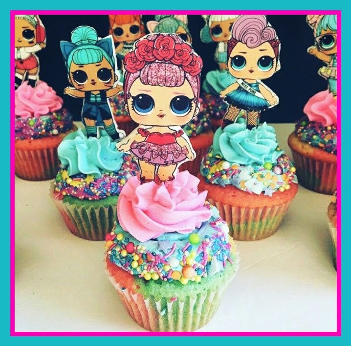 Lol Dolls Cupcakes ️ Z Party S In 2019 Doll Birthday