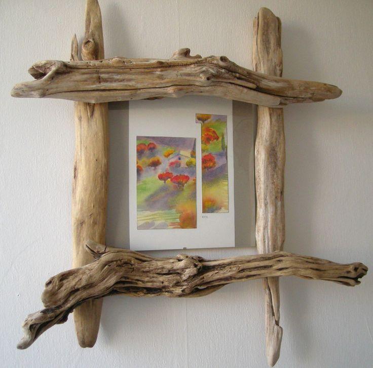 cadre bois flotté