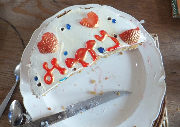 Images Of Eaten Birthday Cake : Pin by Charlotte Makes on making other things Pinterest