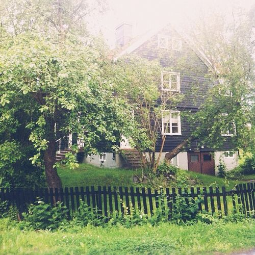 lovely Swedish house and garden (Photo by Chelsea Fuss, frolic)