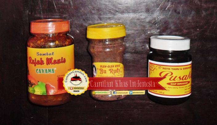 Sambal Rujak Manis (Rujak Buah) Terasi Petis Siap Santap  http://CamilanCamilun.com