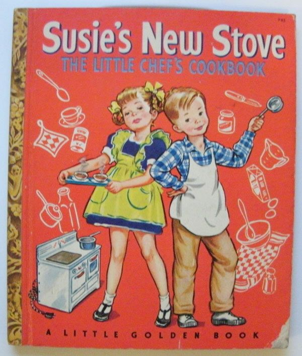 Susies New Stove, the little chefs cookbook by Annie North Bedford by KGbooks on Etsy https://www.etsy.com/listing/119152069/susies-new-stove-the-little-chefs