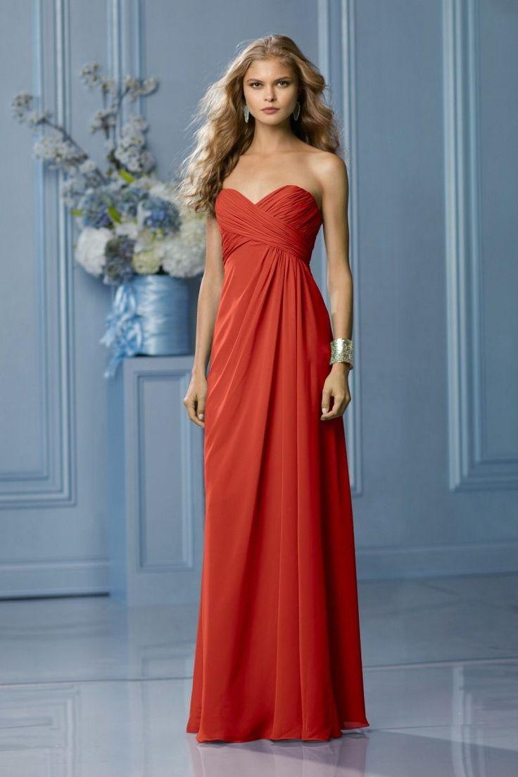 burnt orange bridesmaid dresses - Google Search                                                                                                                                                     More