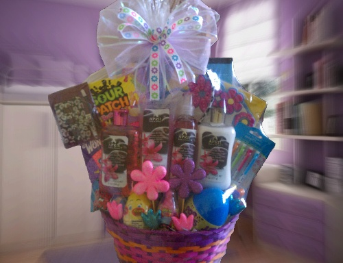 38 best easter baskets with a spa twist images on pinterest easter teentween girl mega easter basket contains candy lip gloss headbands negle Choice Image