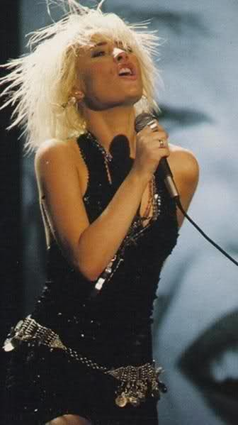 Wendy James of Transvision Vamp a QPR Fan #qpr