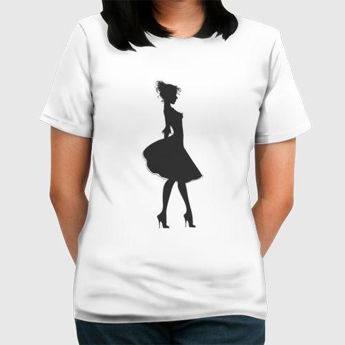 The Girl dari Tees.co.id oleh Anjapul