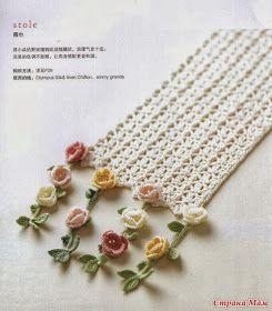 Crochet and arts: Scarf-♪ ♪ ... #inspiration_crochet #diy GB