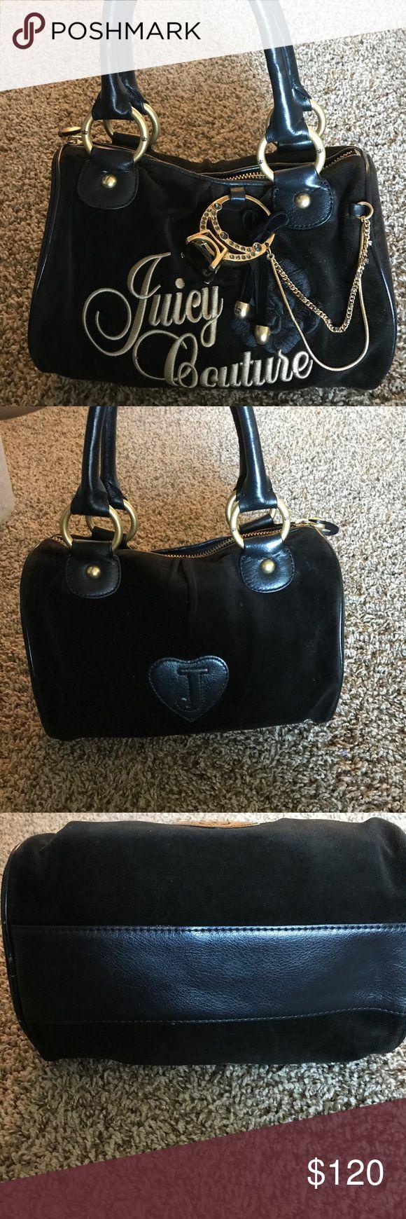 Juicy Couture handbag with wallet Black juicy couture handbag with wallet Juicy Couture Bags Satchels