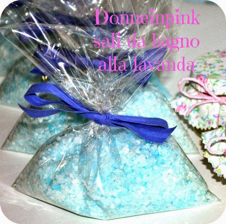 Come fare i sali da bagno- Sali da bagno alla lavanda fai da te - Idea regalo