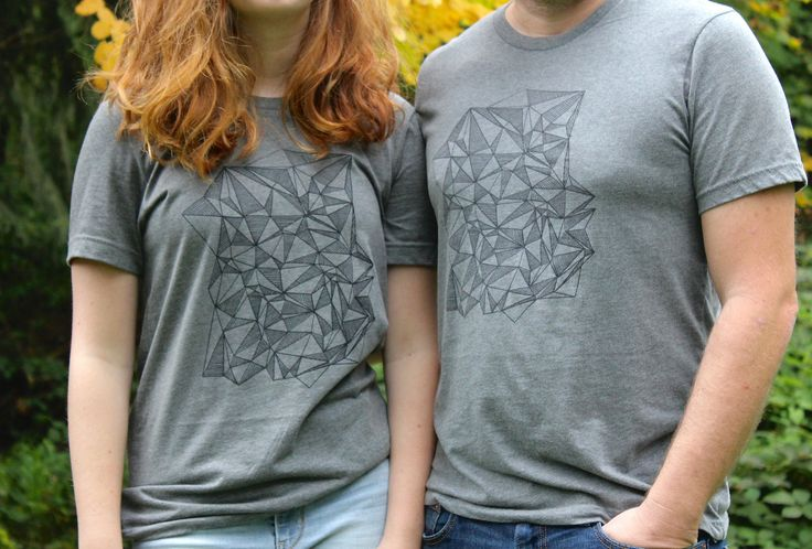 Geometrification T-Shirt Matching - Famjam