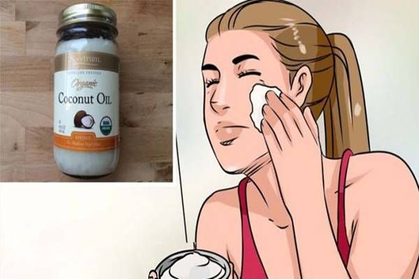 töröld át az arcod minden nap kókuszolajjal