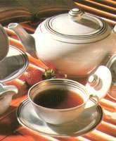 La preparazione del tè verde del tè nero del tè oolong