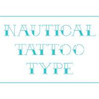 Arr Matey! Create a Nautical Themed Tattoo Alphabet in Sketch (via vector.tutsplus.com)
