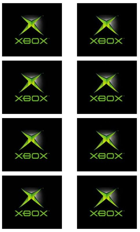 XBOX birthday party labels - use to attach to treat bags or boxes, containers of food or candy. I printed on semi-gloss photo paper. - Thrifty Chic Living